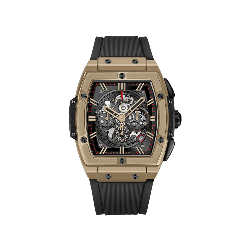 HUBLOT SPIRIT OF BIG BANG MAGIC GOLD CHRONOGRAPH 45 MM