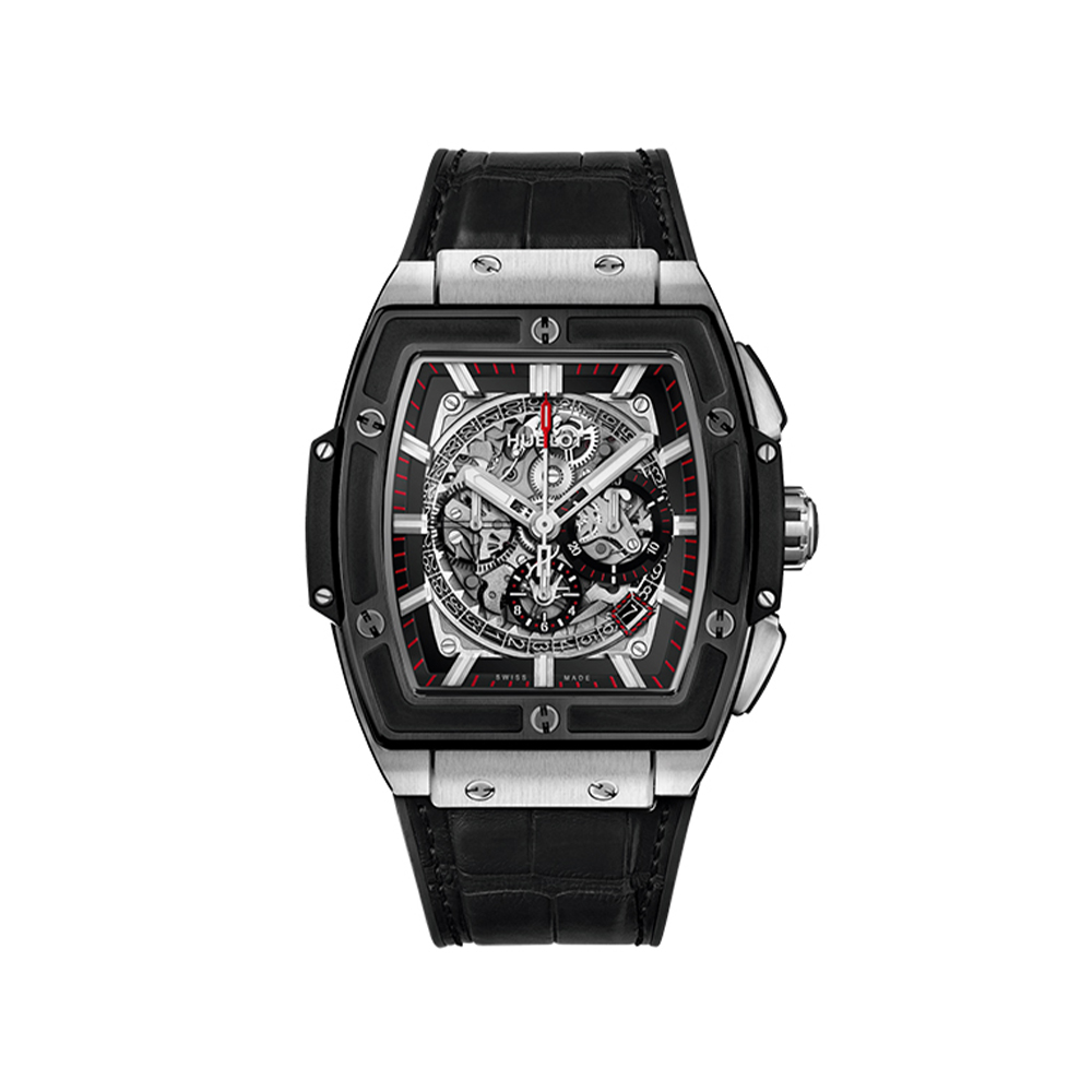 HUBLOT SPIRIT OF BIG BANG TITANIUM CERAMIC CHRONOGRAPH 45 MM