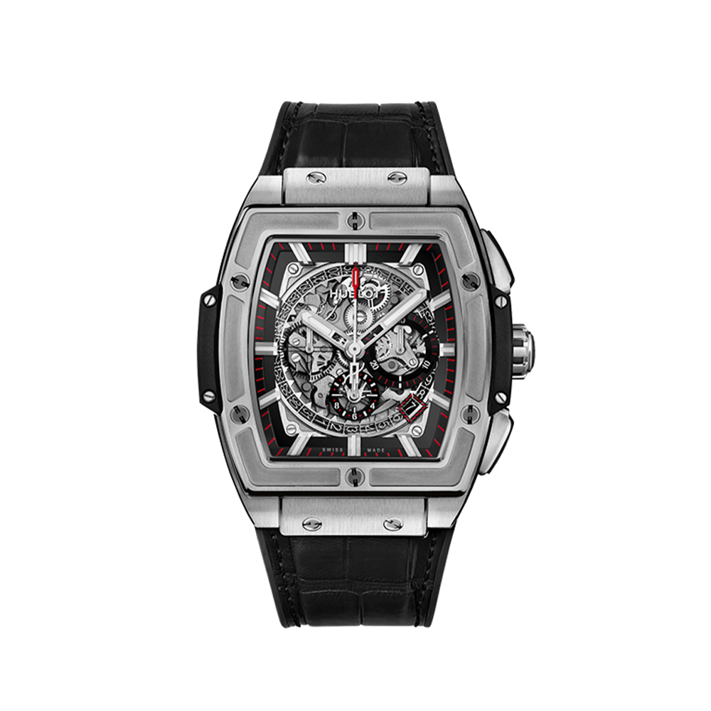 HUBLOT SPIRIT OF BIG BANG TITANIUM CHRONOGRAPH 45 MM